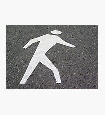 The Pedestrian Photographic Print