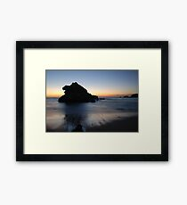 Island Rock Framed Print