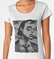 Alice Glass Databending Glitch Women's Premium T-Shirt