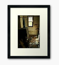 Trashed Framed Print