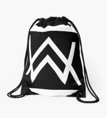 Alan Walker - White Logo Merchandise Drawstring Bag