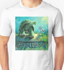Tortoise and the Hare Art T-Shirt
