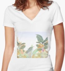 Native Jungle Women's Fitted V-Neck T-Shirt