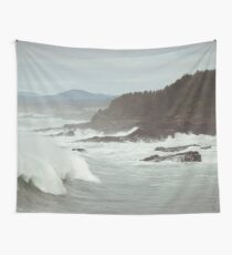 Crashing Waves Wall Tapestry