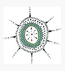 Circular Pattern Two Photographic Print