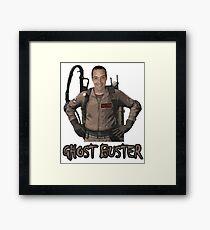 Ghost Buster Framed Print