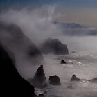 Lighthouse in the mist by the57man