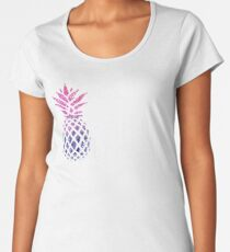 Pinapple Gradient Women's Premium T-Shirt