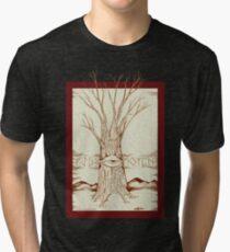 Mystic Tree Tri-blend T-Shirt