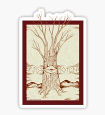 Mystic Tree Sticker