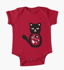 Treats inside the cat One Piece - Short Sleeve