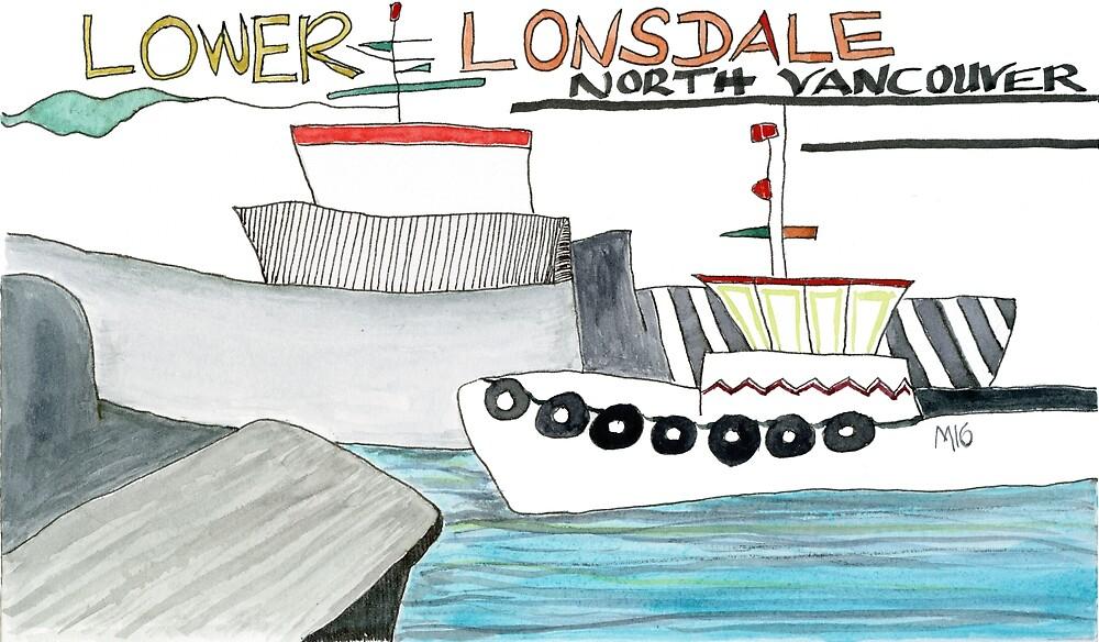 Lower Lonsdale by Gabriele Maurus