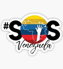 SOS Venezuela 2 Sticker