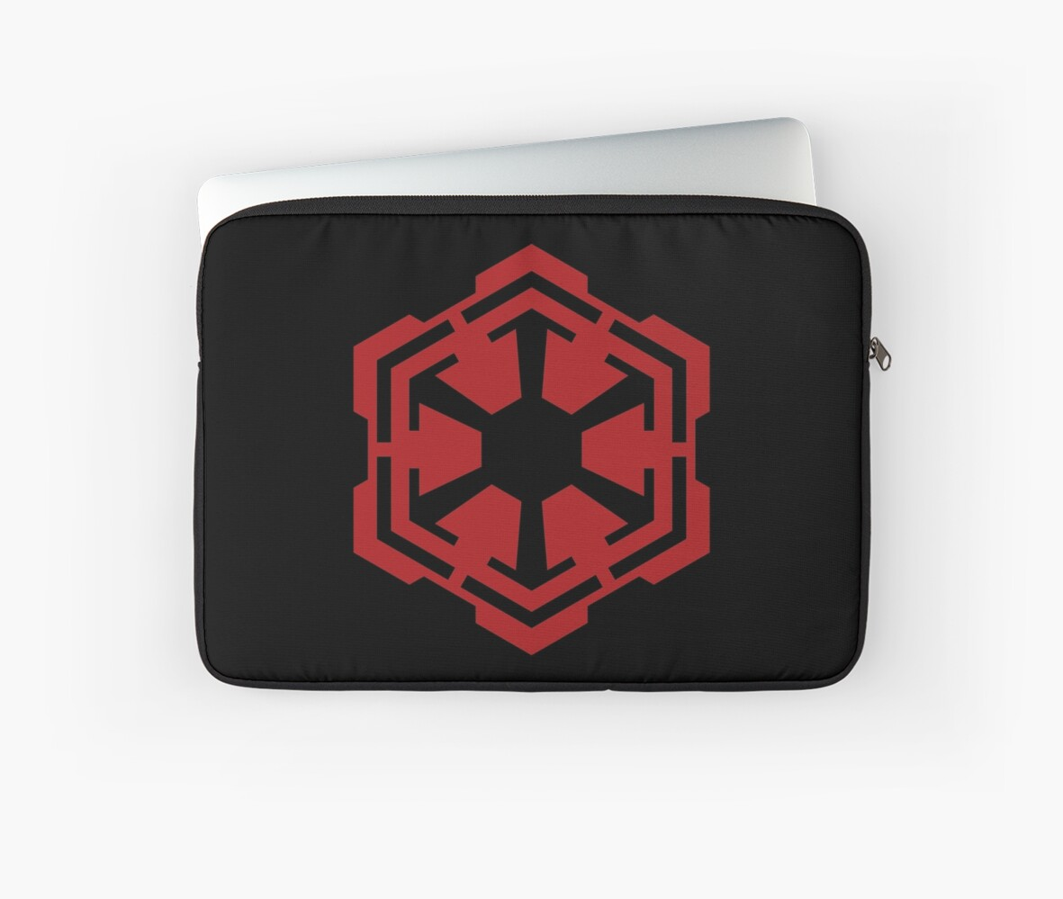 Sith Empire Emblem Laptop Sleeves By Snibel Redbubble