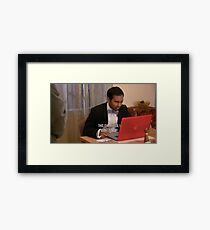 Tom Haverford- This is America Framed Print