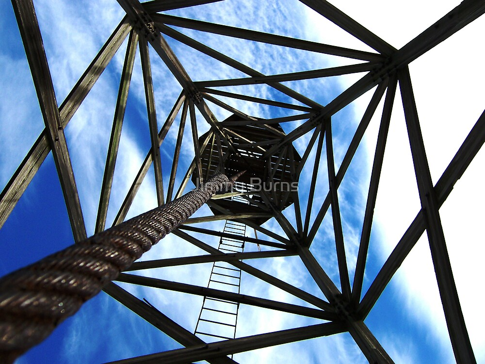 Abstract windmill by Jimmy Burns