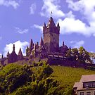 Castle On the Mosel River by Nancy Richard