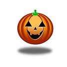 Halloween Pumpkin WB by Henrik Lehnerer