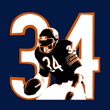 WALTER PAYTON by ZARATE-VI