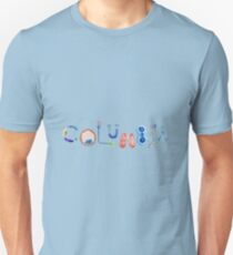 Columbia Medical in Watercolors Unisex T-Shirt