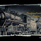 Newfoundland Railway Engine 1010 by Madeline M  Allen