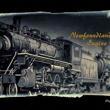 Newfoundland Railway Engine 1010 by SmudgeArt