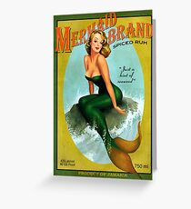 Mermaid of Jamaica Greeting Card