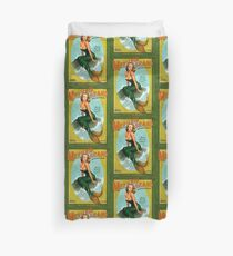 Mermaid of Jamaica Duvet Cover