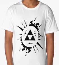 Cool Zelda Triforce Design - Looks awesome on tees and more! Long T-Shirt