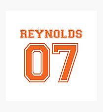 The Foxhole Court Reynolds orange Photographic Print