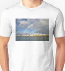 Of Whitewashed Villages and Rainbows T-Shirt
