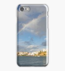 Of Whitewashed Villages and Rainbows iPhone Case/Skin