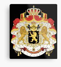 Belgian coat of arms Metal Print