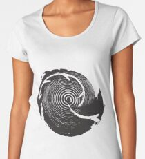 The Twilight Zone : BW // DJ Women's Premium T-Shirt
