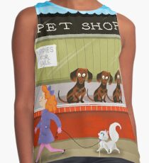 Puppies For Sale Contrast Tank