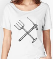 Pitchforks and pickaxes Women's Relaxed Fit T-Shirt
