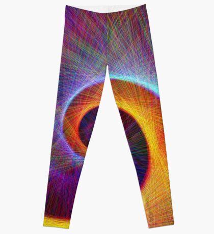 Fibonacci spiral, linify Leggings