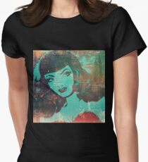 Distressed Beauty Womens Fitted T-Shirt