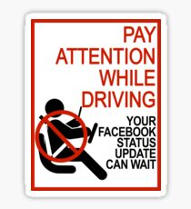 Do Not Text & Drive! Sticker