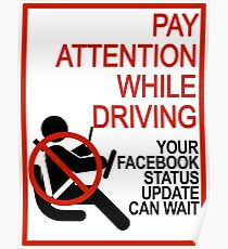 Do Not Text & Drive! Poster