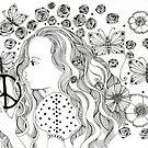 CHILD OF PEACE g w lg4 by Gea Austen