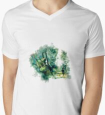 Nier Automata Painting Mens V-Neck T-Shirt