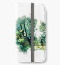 Nier Automata Painting iPhone Wallet/Case/Skin