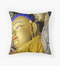 Master and Student Throw Pillow