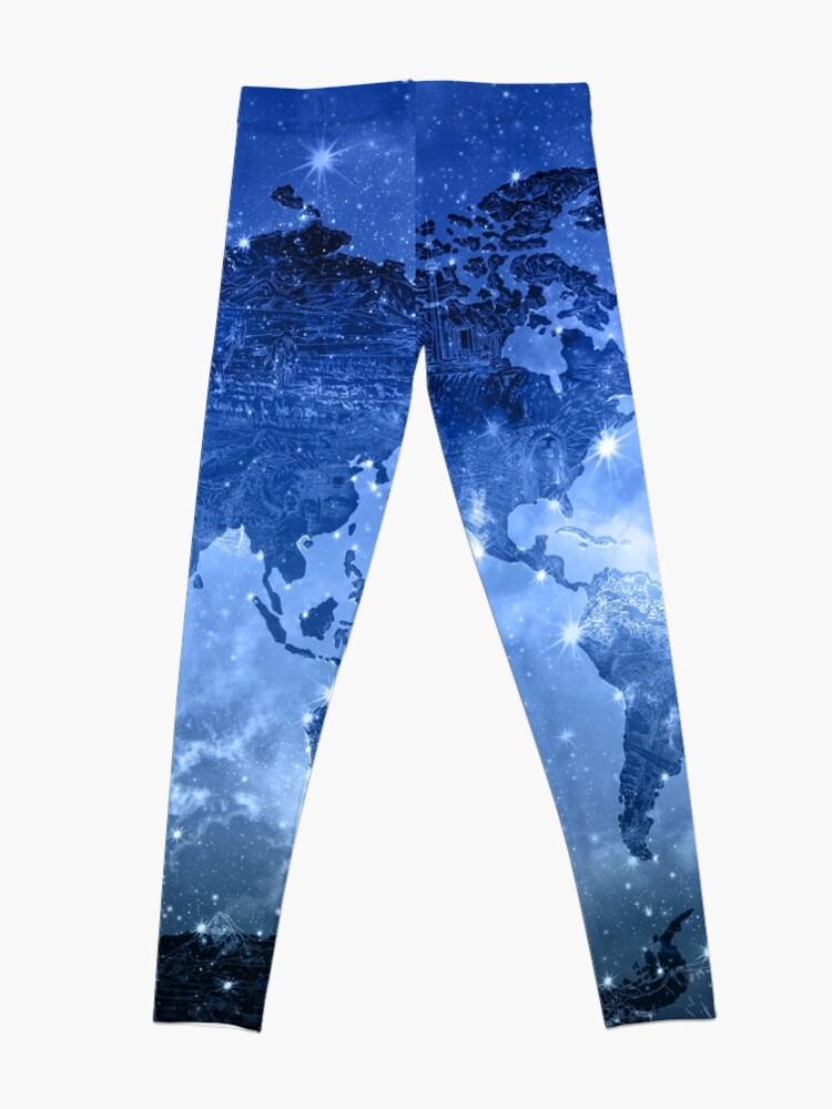 Alternative Ansicht von Weltkarte Leggings