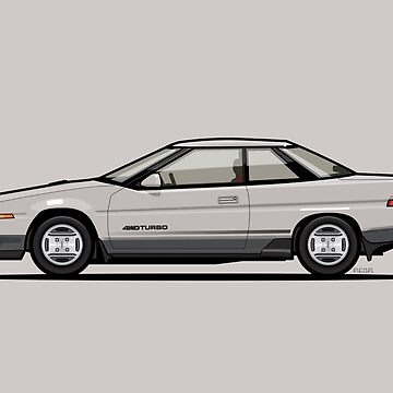 Subaru Alcyone XT-Turbo Vortex Silver by monkeycom