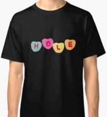Hole- Letter Font Classic T-Shirt
