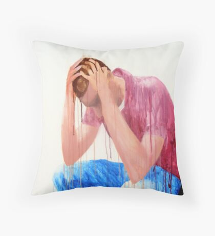 Dissappointment  Throw Pillow