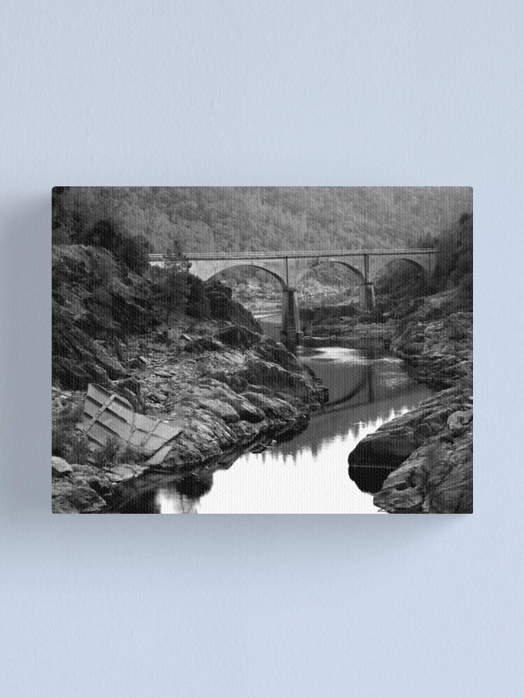 Alternate view of American Bridge Canvas Print