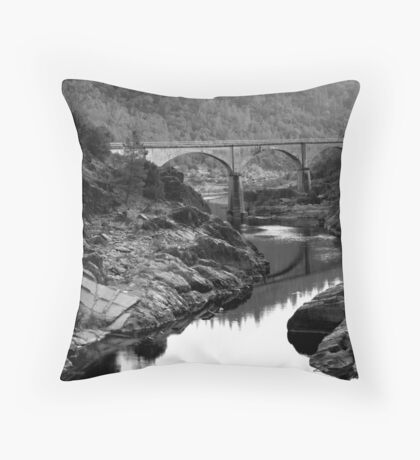 American Bridge Throw Pillow